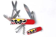 Free Swiss Army Knife Royalty Free Stock Image - 14004766
