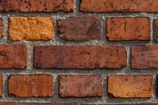 Free Red Brick Wall Stock Image - 14004901