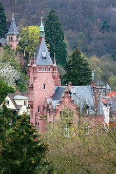 Free Heidelberg Castle,Germany Royalty Free Stock Photo - 14004985