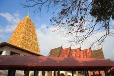 Pagoda,West Thailand Royalty Free Stock Image