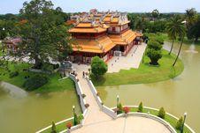 Free Chinese Style Palace Stock Image - 14005241