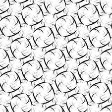 Free Seamless Ornament Swirl Pattern Royalty Free Stock Image - 14005676