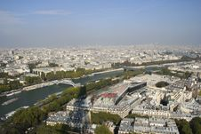 Free Paris And The Seine River Stock Photo - 14005820