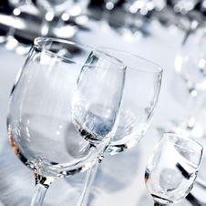 Free Glass Goblets Royalty Free Stock Image - 14005916