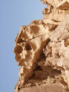 Free Limestone Canyon In Sinai Peninsula Stock Photography - 14006222