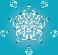 Free Traditional Ottoman Turkish Tile Illustration Stock Image - 14006391