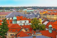 Free Rooftops Prague Royalty Free Stock Image - 14006426