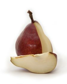 Free Pear Segment Stock Photography - 14006712
