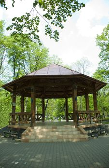 Free Gazebo Royalty Free Stock Photos - 14006778