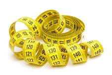 Free Yellow Measuring Tape Stock Photos - 14007573