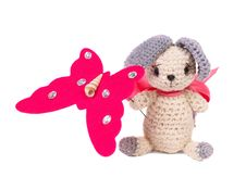 Free Knitted Toy Royalty Free Stock Photos - 14007888