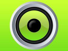 Green Speaker Stock Photos
