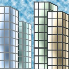 Free Buildings Royalty Free Stock Photo - 14008345