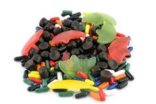 Different Kind Of Candy Stock Images