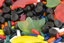 Different Kind Of Candy Stock Photos