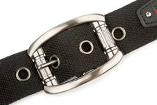 Buckle Belt Stock Photo