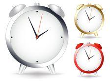 Free Alarm Clocks. Vector Royalty Free Stock Photos - 14009468