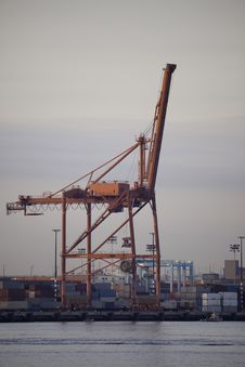Free Crane Royalty Free Stock Image - 14009596