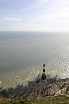 Free Beachy Head Lighthouse, East Sussex Stock Photography - 14009662
