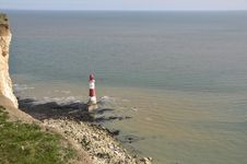 Free Beachy Head Lighthouse, East Sussex Stock Photos - 14009733