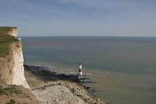 Beachy Head Lighthouse, East Sussex Stock Image