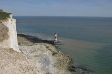 Free Beachy Head Lighthouse, East Sussex Stock Images - 14009824
