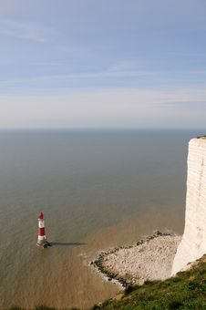 Beachy Head Lighthouse, East Sussex Stock Images