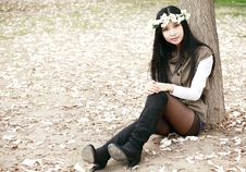 Free Spring Girl Royalty Free Stock Photography - 14009917