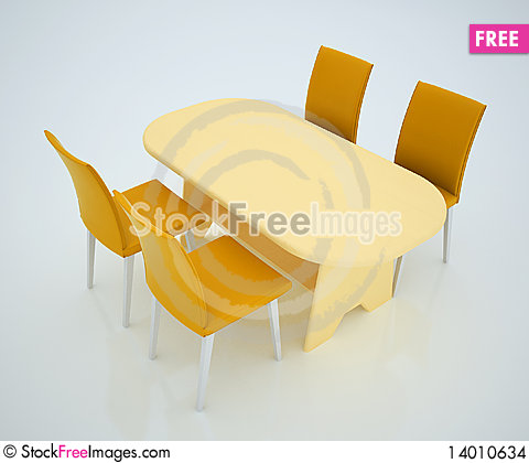 Free Dining Table Stock Images - 14010634