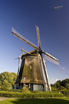 Free Rembrandt S Windmill Stock Photography - 14010102