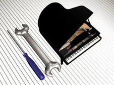 Free Piano Repair Stock Images - 14010154