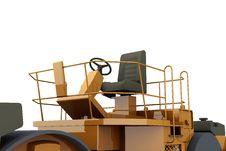 Free Paver Machine Royalty Free Stock Image - 14010606