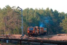 Free Railway Heavy Duty Machines Stock Photo - 14010660