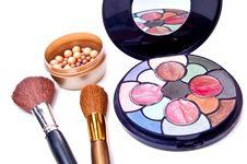 Free Makeup Tools Royalty Free Stock Photos - 14010768