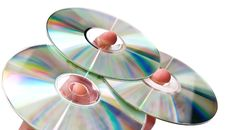 Free Three Dvd Stock Photo - 14010780