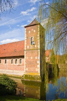 Castle Burg Hülshoff, Münsterland Stock Photography