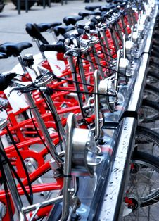 Free Bicycles Details Stock Photos - 14012173