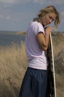 Free Surfgirl Stock Photos - 14012253