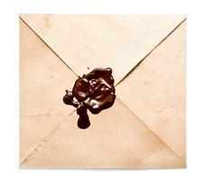 Free Envelope On White Background Stock Images - 14012394