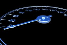 Free Speedometer Royalty Free Stock Image - 14012476