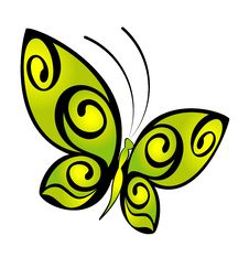 Free Tropical Butterfly Stock Photography - 14013282