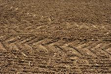Free Prepared Empty Field Stock Image - 14013411