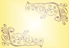 Free Brown And Yellow Ornament Royalty Free Stock Photos - 14013418