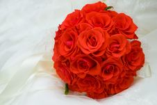Free Bouquet Of Red Roses Stock Photo - 14013470