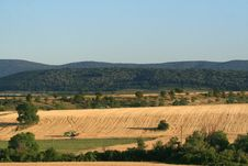 Free Combine Harvesting Stock Image - 14013991