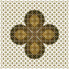 Free Texture-Wallpaper Vector Cross Carpet Stock Image - 14014221