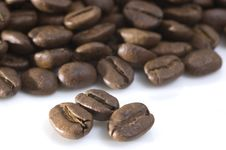 Free Coffee Beans Macro Stock Image - 14015051
