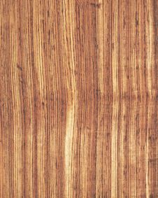 Wood Texture Background_zebrano_18 Stock Photo
