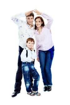 Free Home For Family Royalty Free Stock Images - 14015549