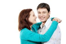 Free Laughing Couple Royalty Free Stock Images - 14015589